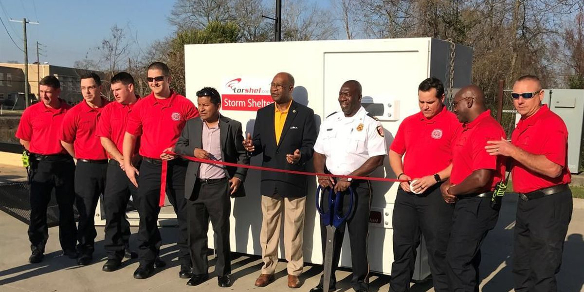 Donation gives all Hattiesburg fire stations a safe shelter