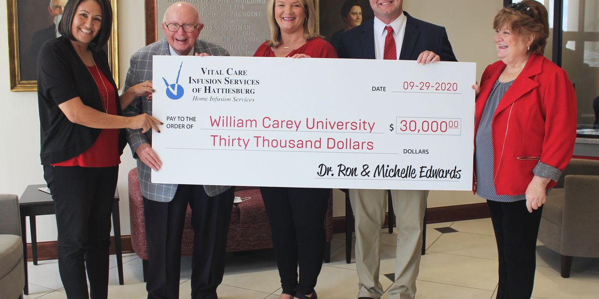Carey's College of Health Sciences gets $30,000 donation