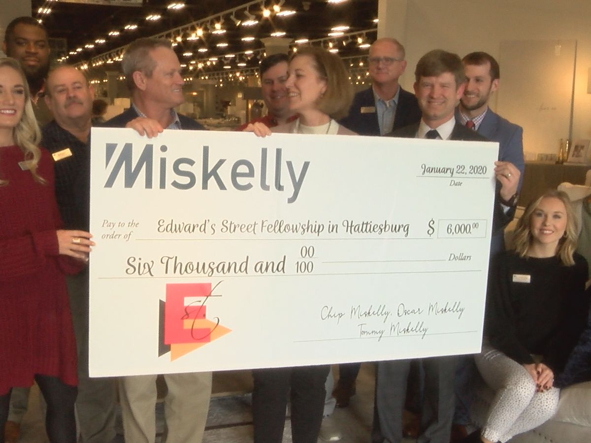 Edwards Street Fellowship gets $6K from Miskelly fashion show