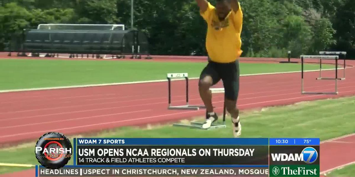 USM Track & Field sends 11 to NCAA Regionals