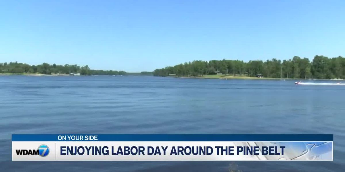 Pine Belt residents celebrate Labor Day at Paul B. Johnson State Park