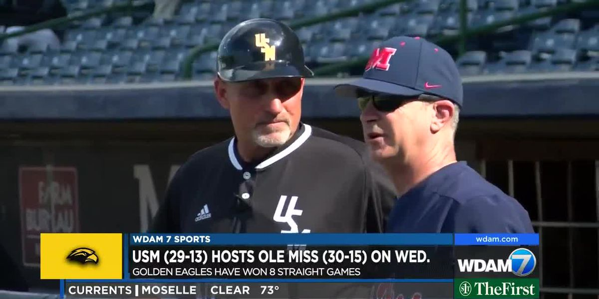 USM rides 8-game win streak into battle with Ole Miss