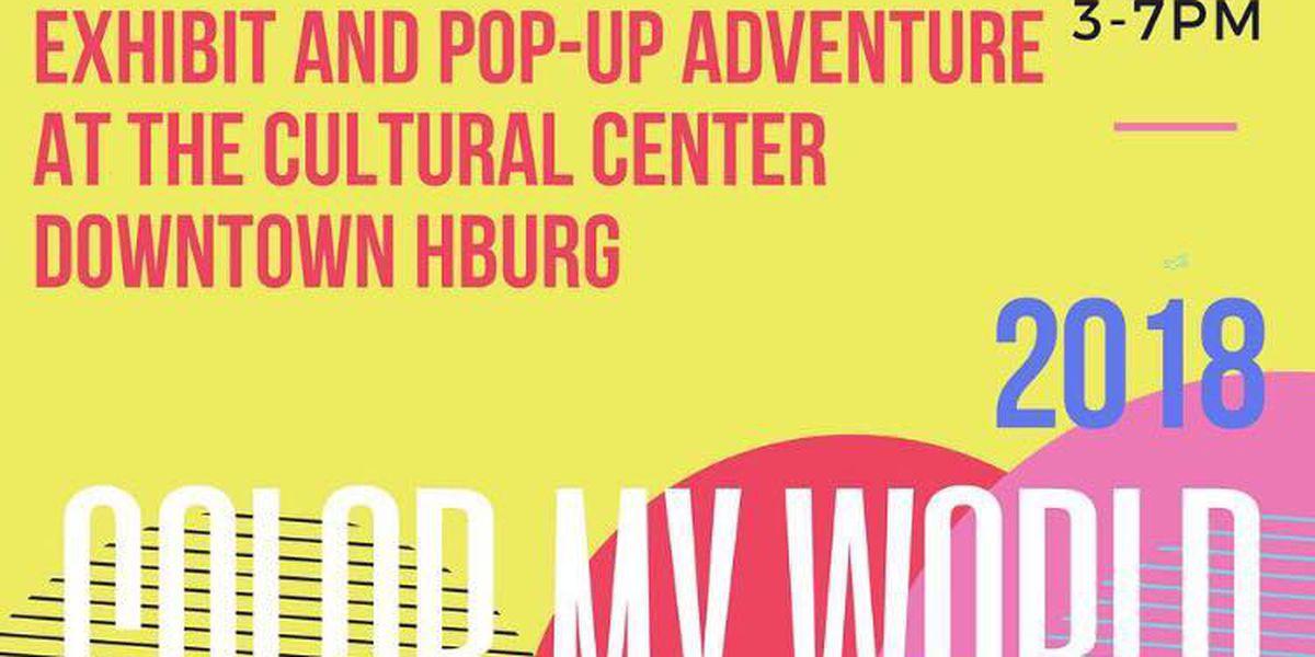 "Hattiesburg Arts Council to host ""Color My World"" exhibit"