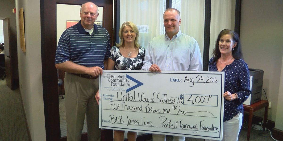 United Way receives charitable donation