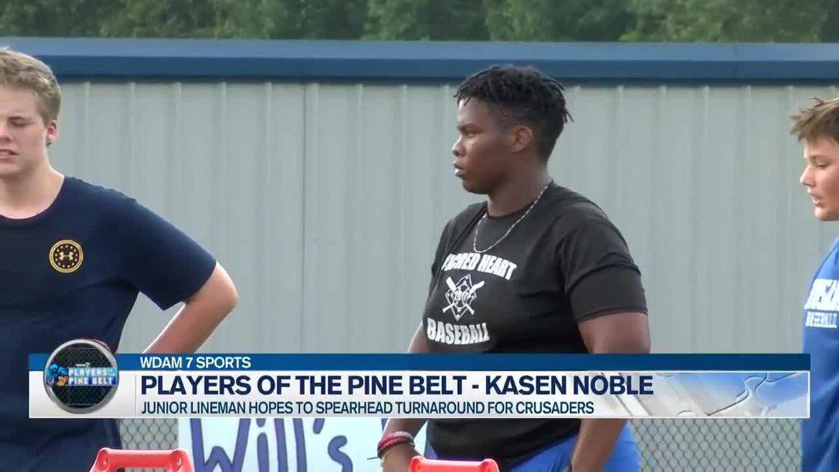 Players of the Pine Belt: Sacred Heart's Kasen Noble ready to go on two fronts
