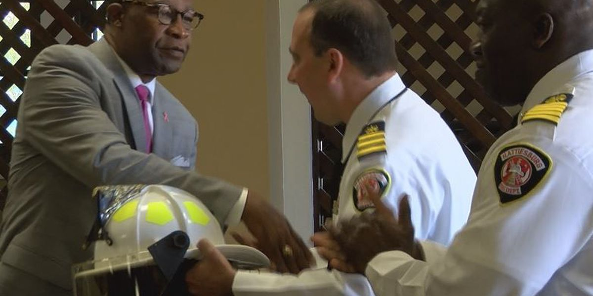 HFD promotes 5 during ceremony