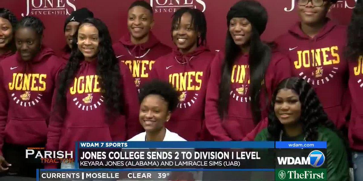Jones College women's basketball sends 2 to Division I level