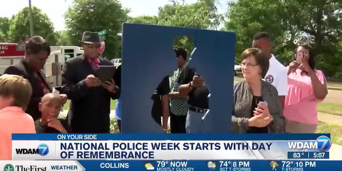 National Police Week kicks off with 'Day of Remembrance' in Hattiesburg