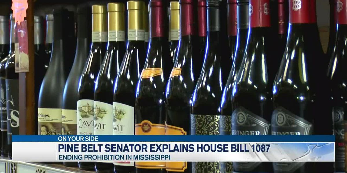 Sen. Fillingane discusses bill allowing alcohol possession in Miss.