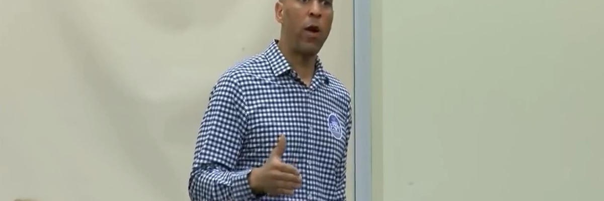 Sen. Cory Booker campaigns for Mike Espy in Hattiesburg - VOD - clipped version