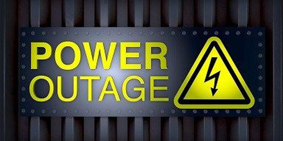 Less than 500 power outages reported in Pine Belt