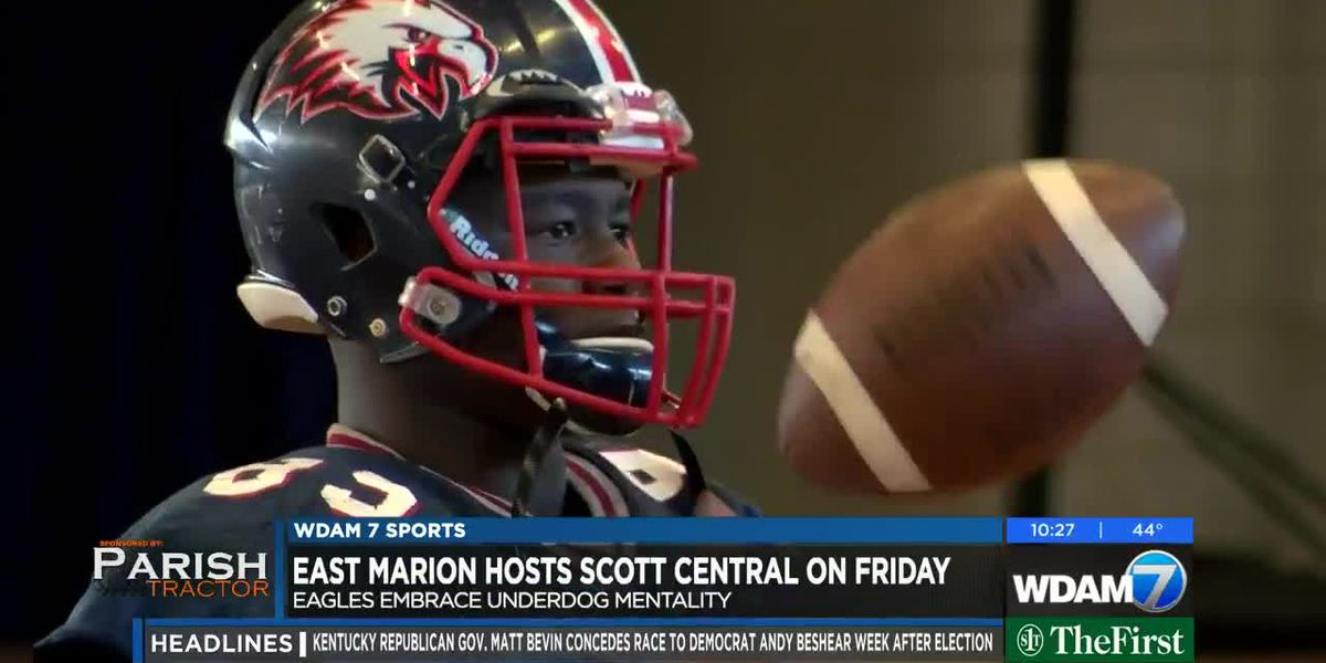 East Marion hosts reigning state champions Scott Central