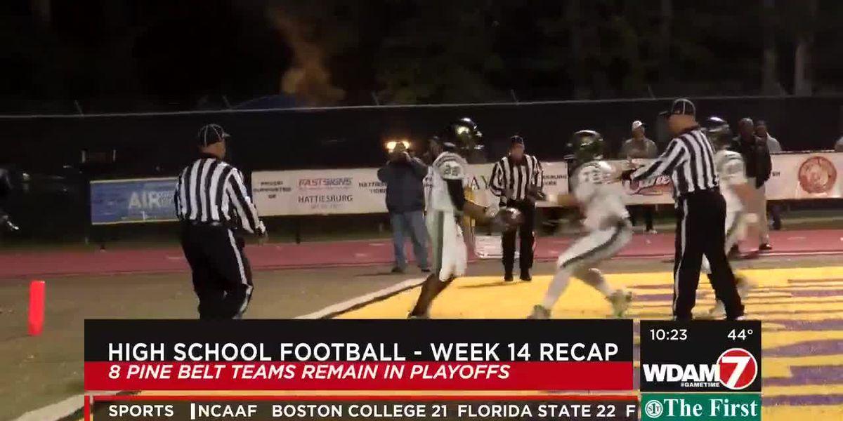 High School Football Recap: Week 14