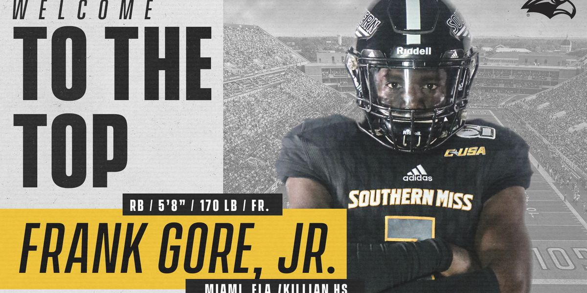 Son of NFL great signs with Southern Miss football