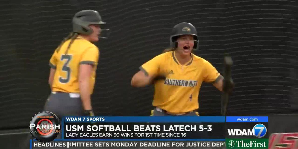 USM softball takes down Louisiana Tech, 5-3