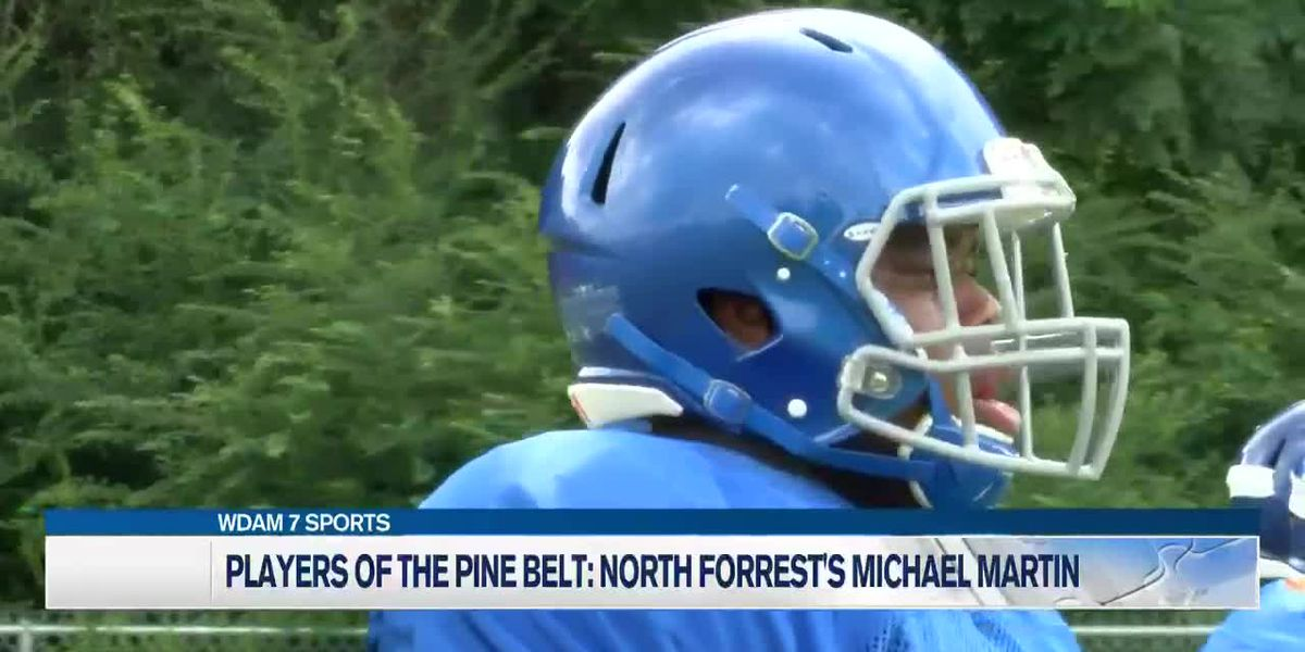 Players of the Pine Belt: North Forrest's Michael Martin a force on both sides of the football