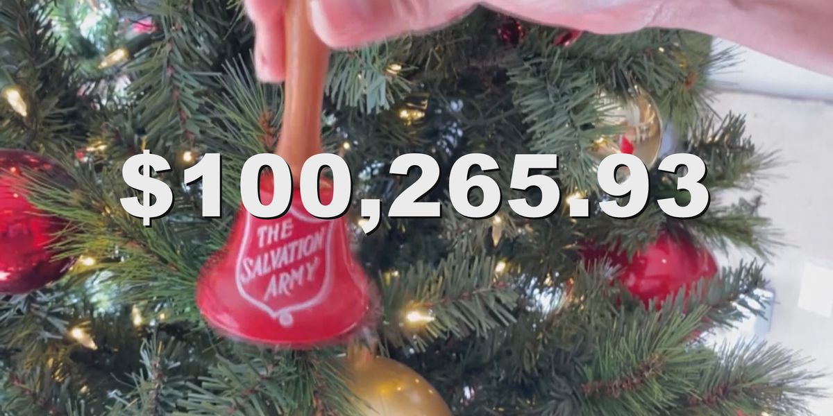 The Salvation Army of Laurel reaches $90K red kettle goal