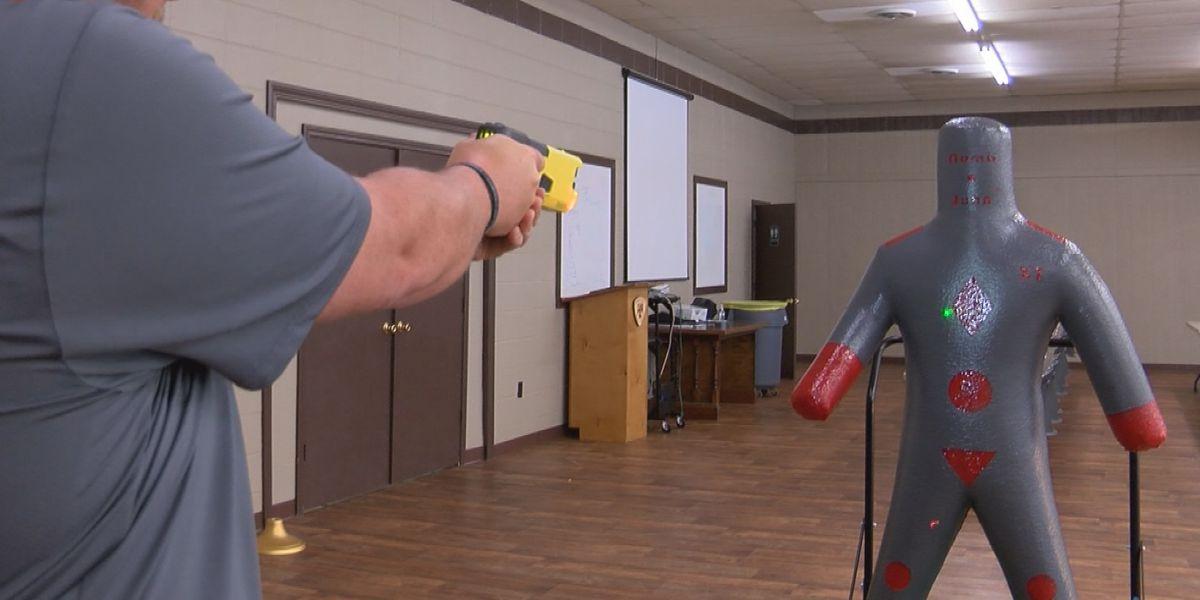 Jones County Sheriff's Department testing new taser for deputies