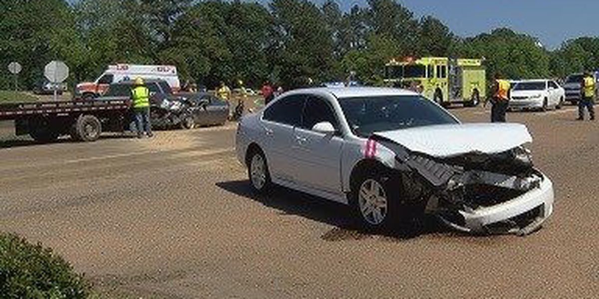 Collins auto accident sends five to hospital