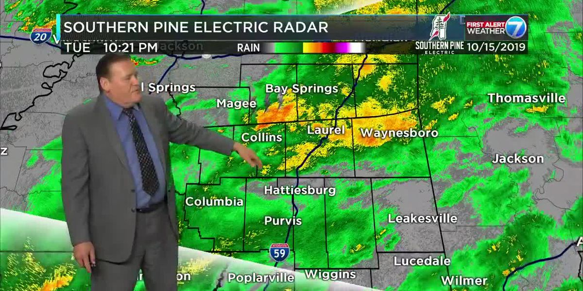 First Alert: Showers continue into early Wednesday