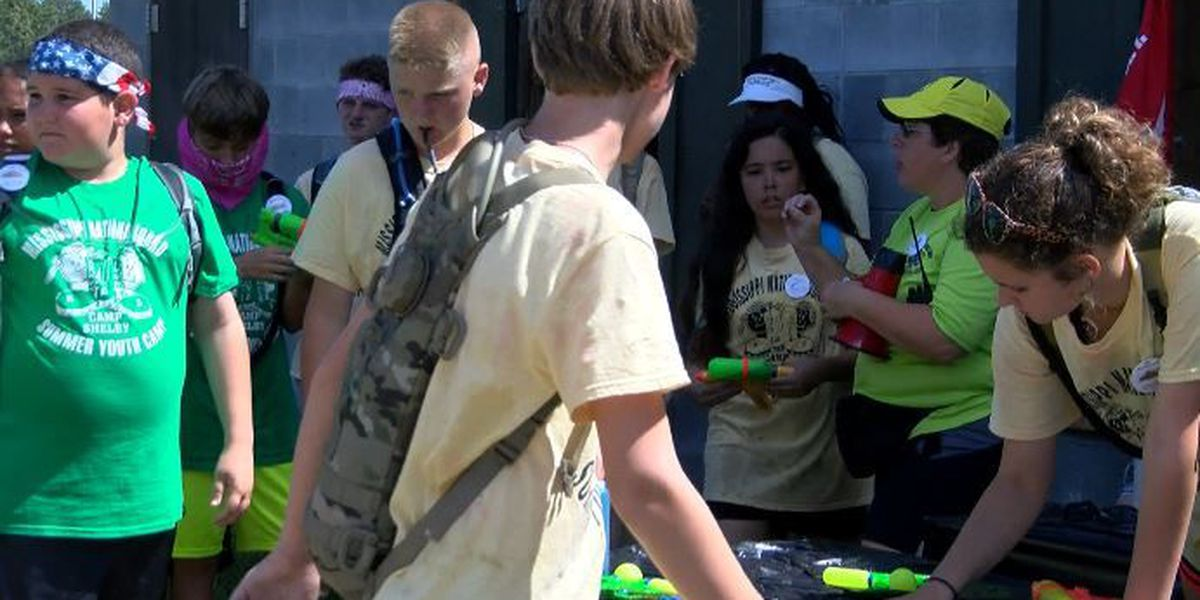 Military children participate in the 24th Kid's Annual Training