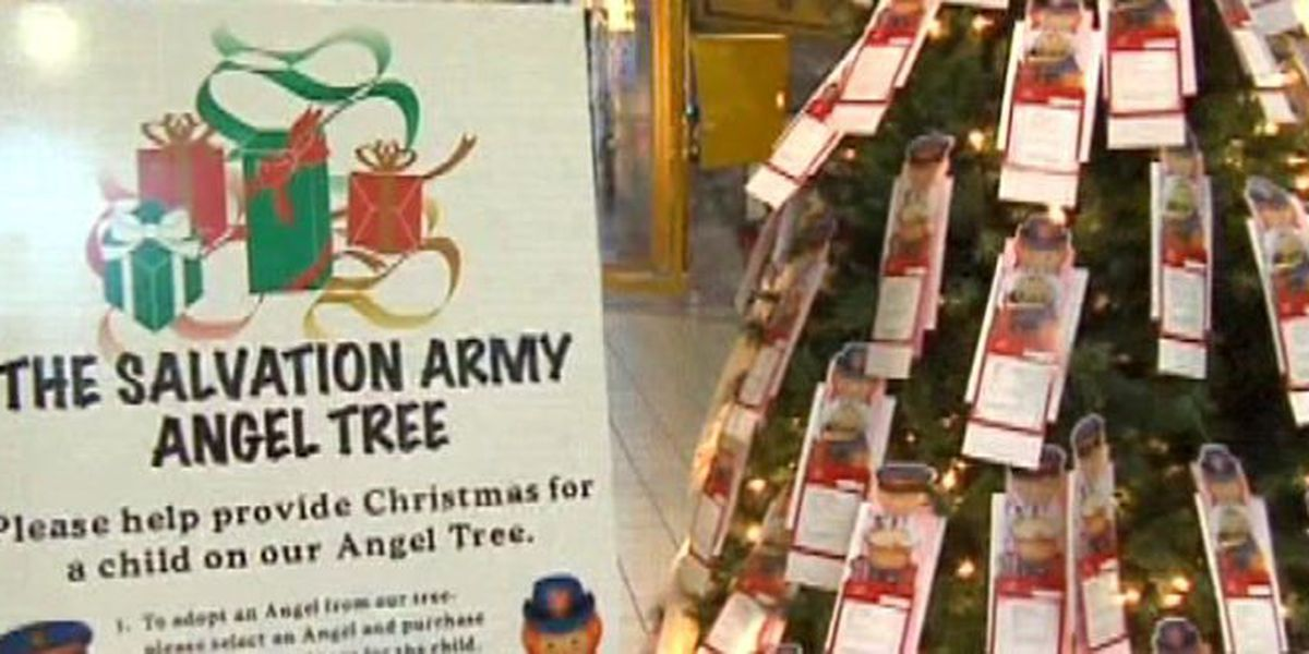 Salvation Army begins annual Angel Tree program