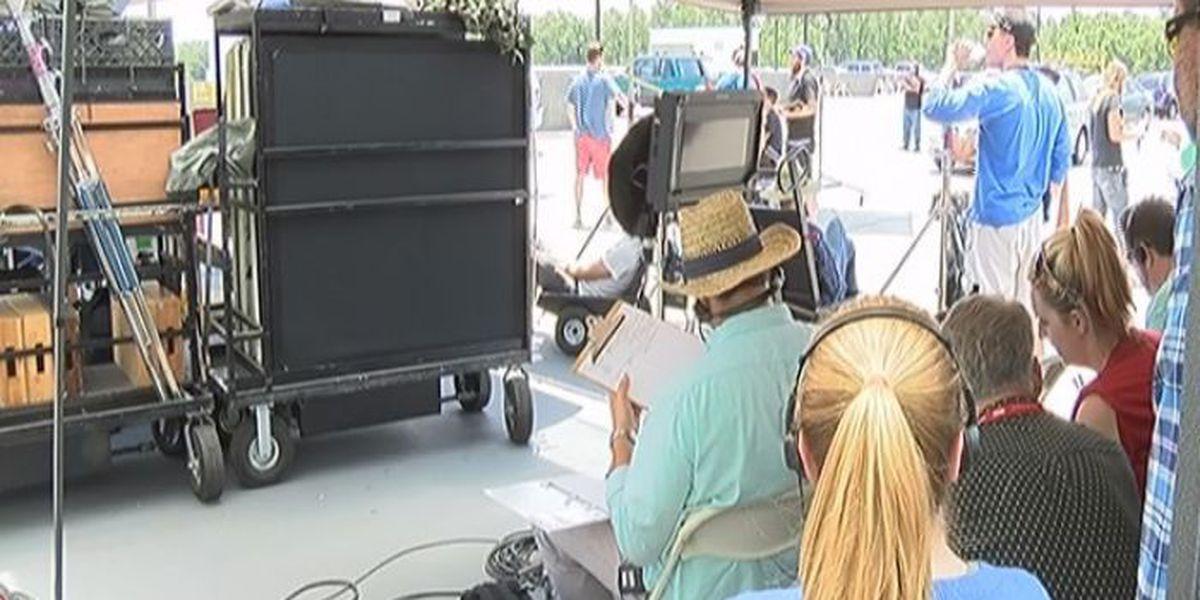 Lights, Camera, Action: New movie being filmed in Hub City