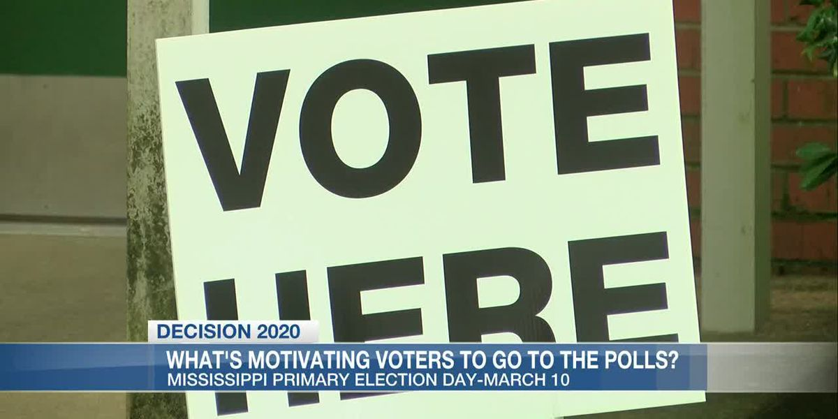 Voters weigh in on what's motivating them for the Mississippi primary elections