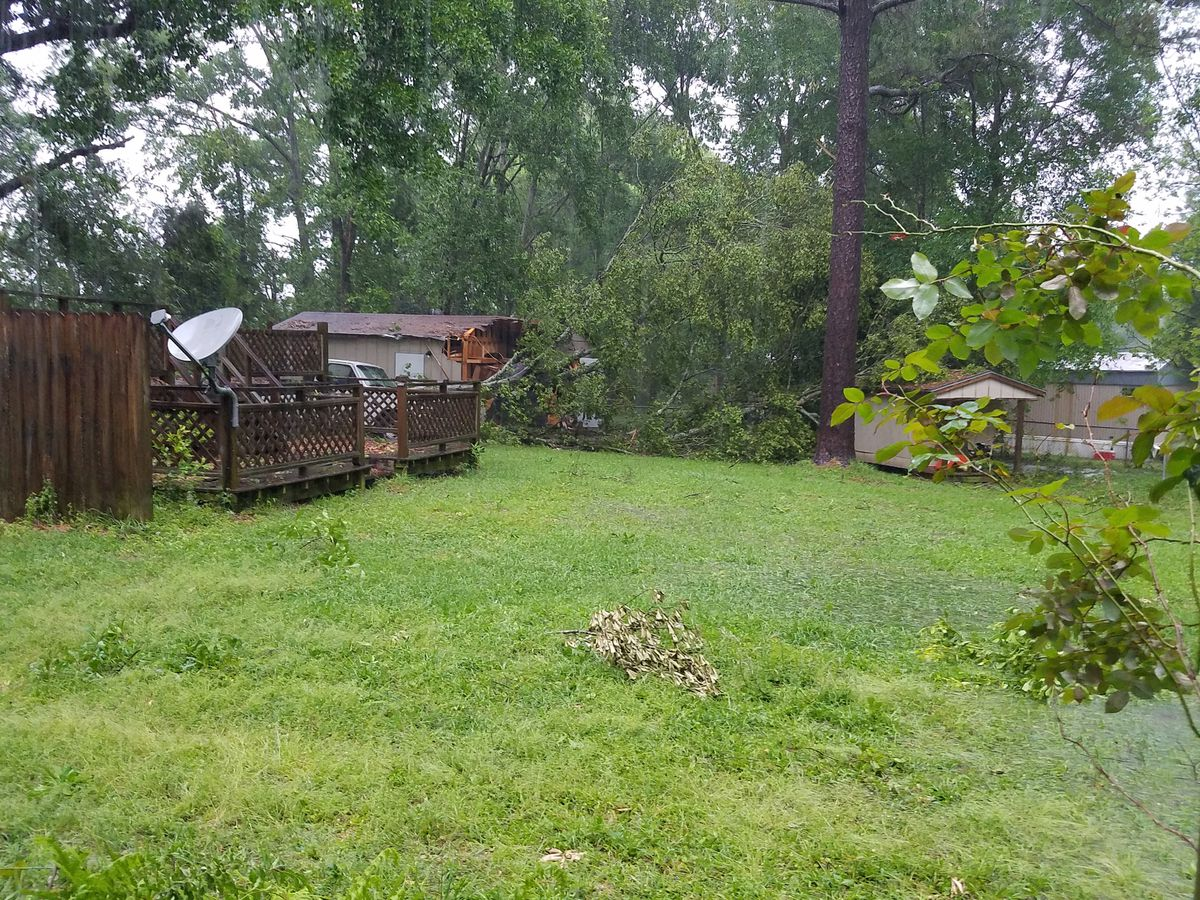 Minor damage, flooding reported following outbreak of strong storms