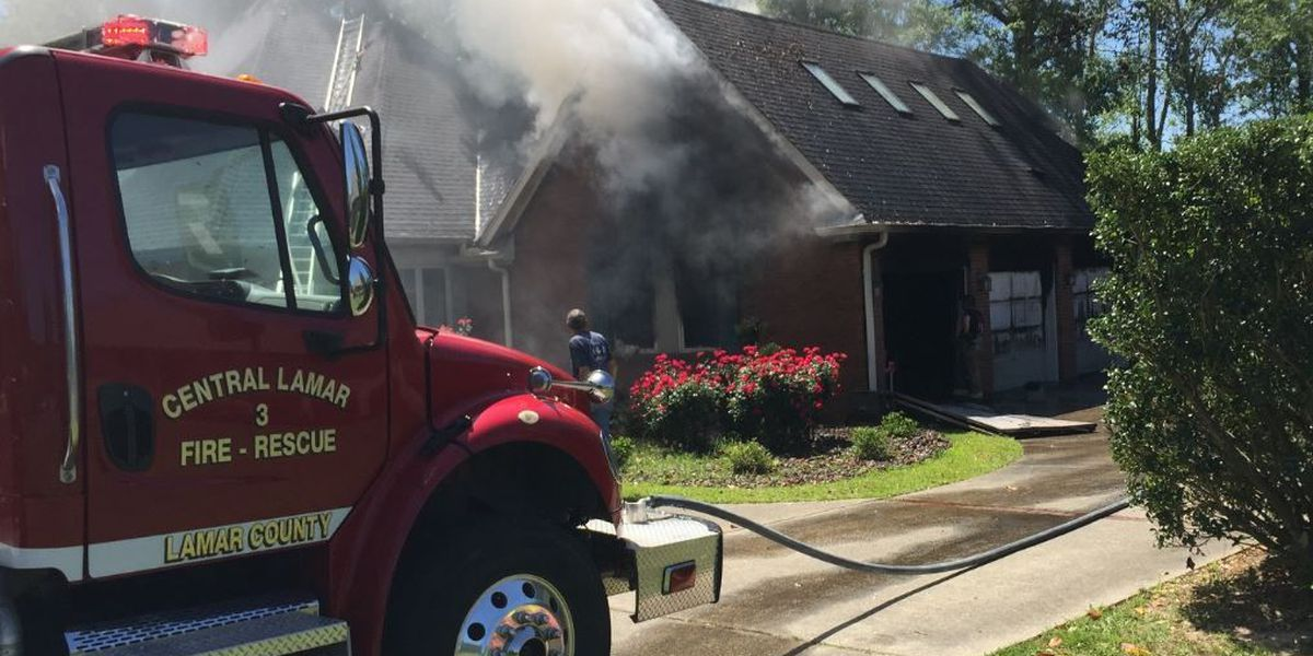 House in Canebrake catches fire