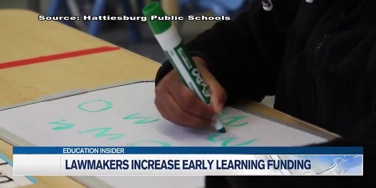 Miss. lawmakers increase funding for Early Learning Collaboratives