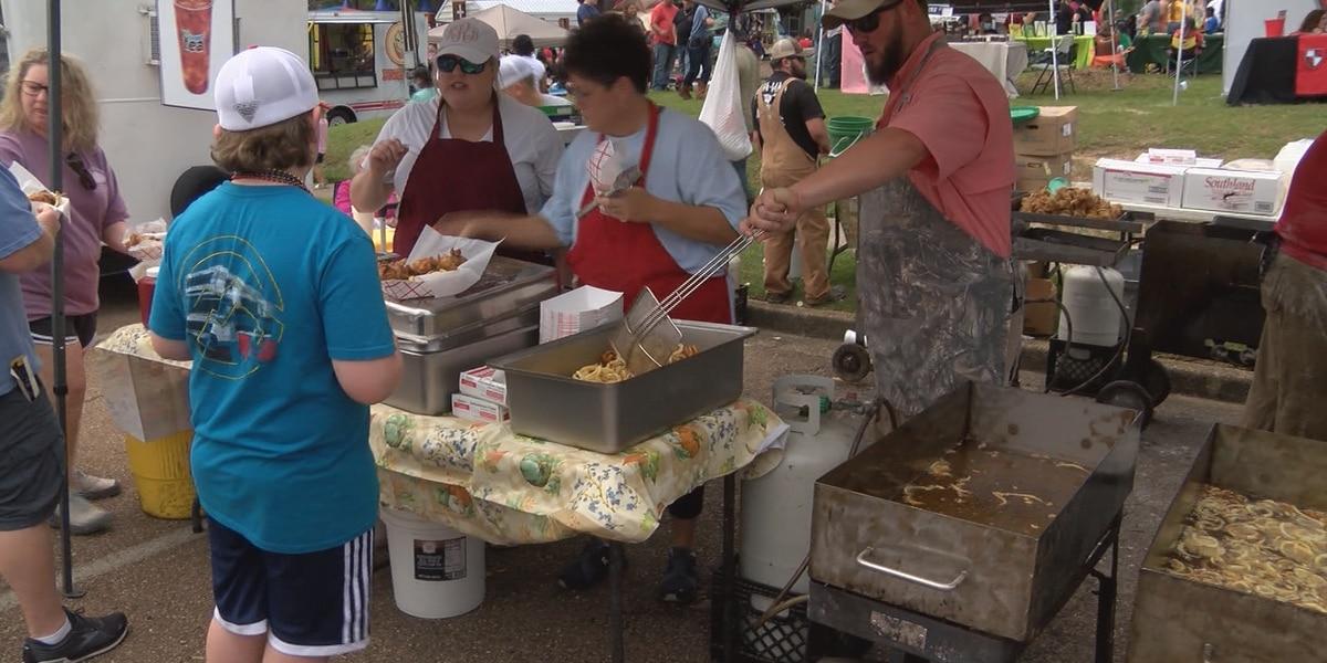 Okatoma Fest attracts 12,000 visitors to Collins
