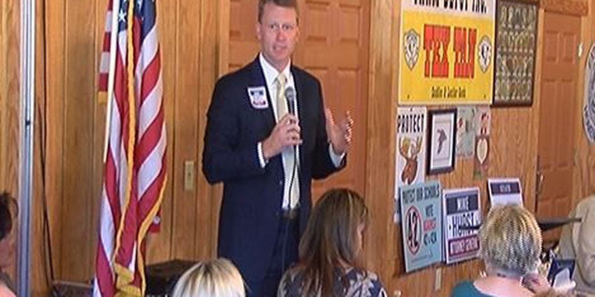 AG candidate addresses local sheriff's race at luncheon