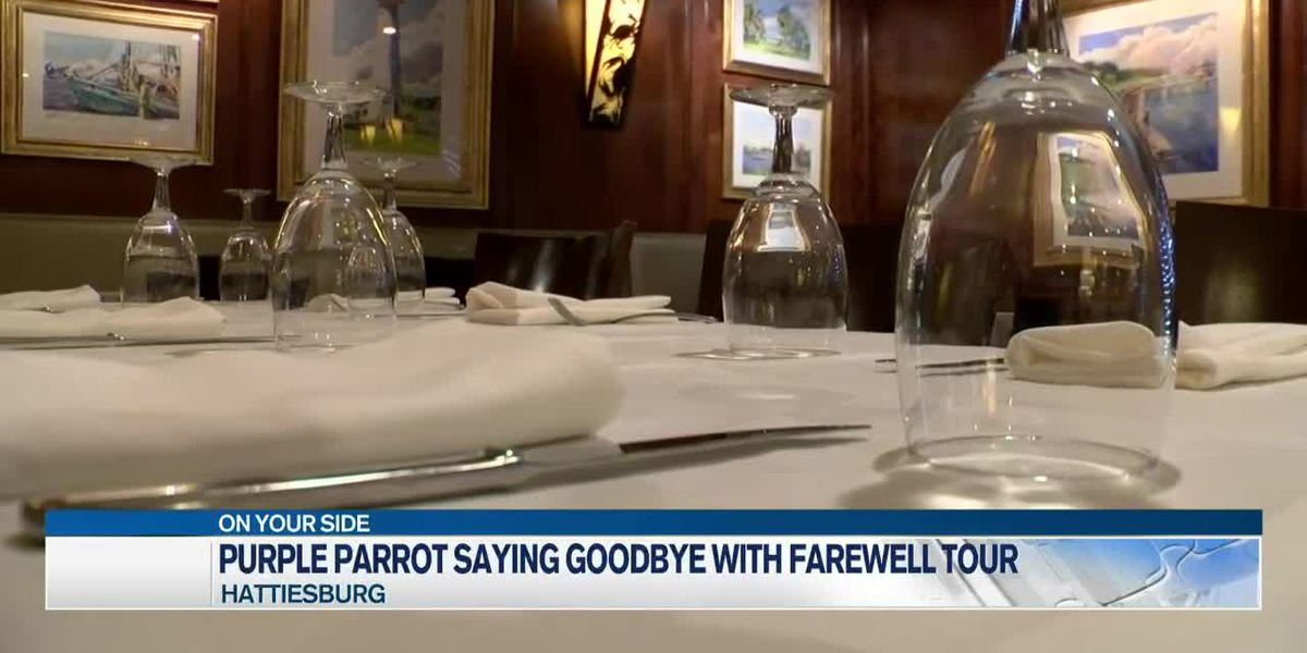 Purple Parrot hosts 'farewell tour' before permanently closing