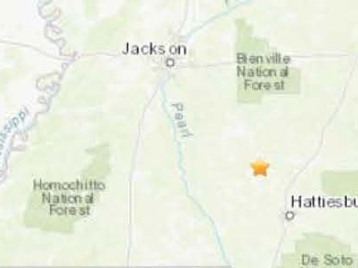 Earthquake recorded near Collins on Wednesday morning