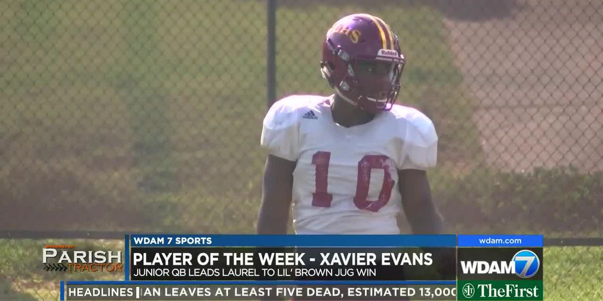 Player of the Week - Laurel quarterback Xavier Evans