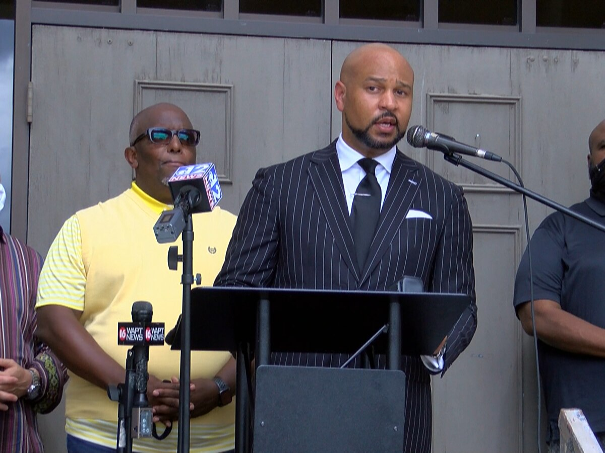 Attorney: 'Don't play another down until the flag comes down'