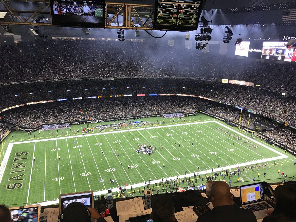 Saints shuffle NFC pecking order by beating Rams