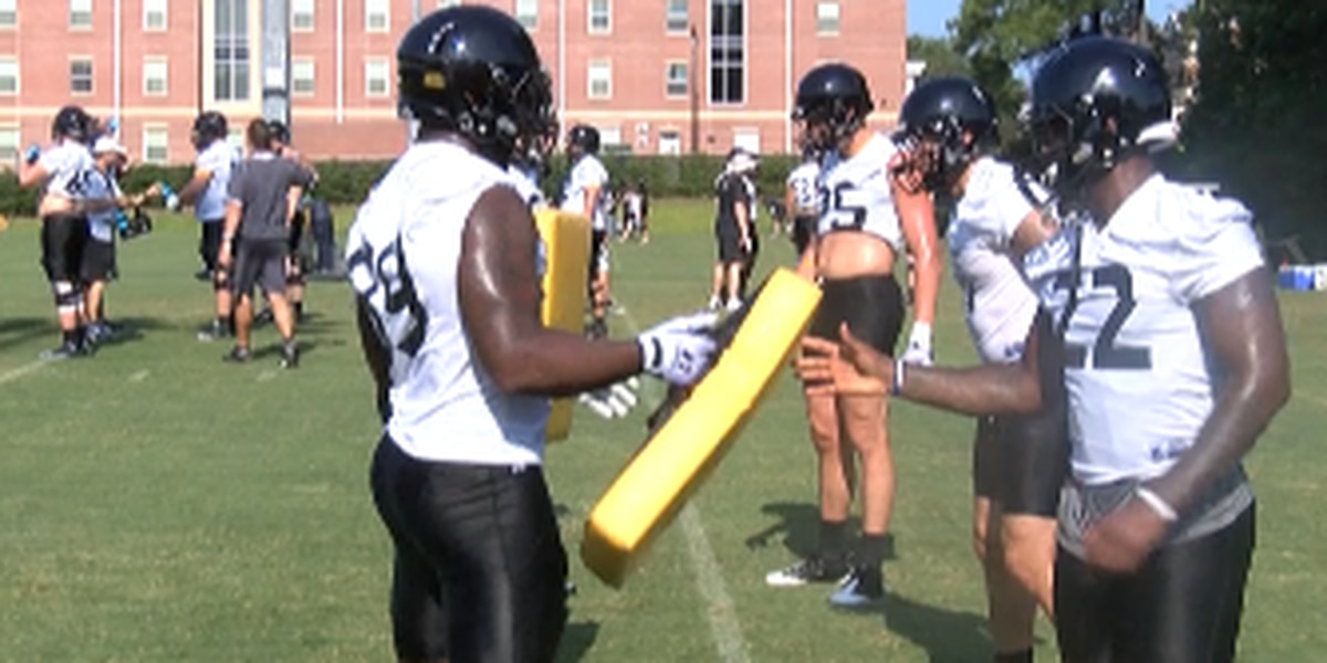 USM Football: Thigpen steps forward
