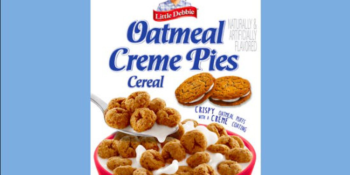 Little Debbie to release Oatmeal Creme Pie cereal
