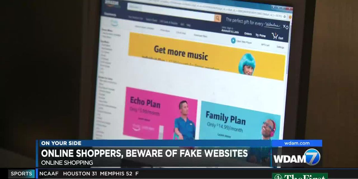 Don't become a victim to fake websites while online shopping
