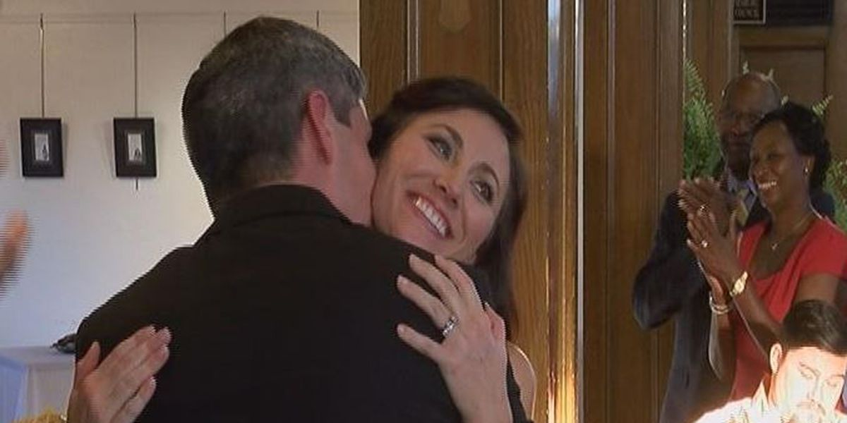 Katrina couple renews vows 10 years after storm