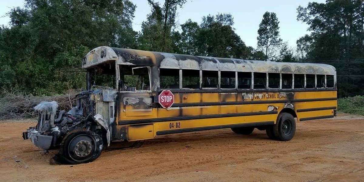 Wayne Co. school bus catches fire, no injuries reported