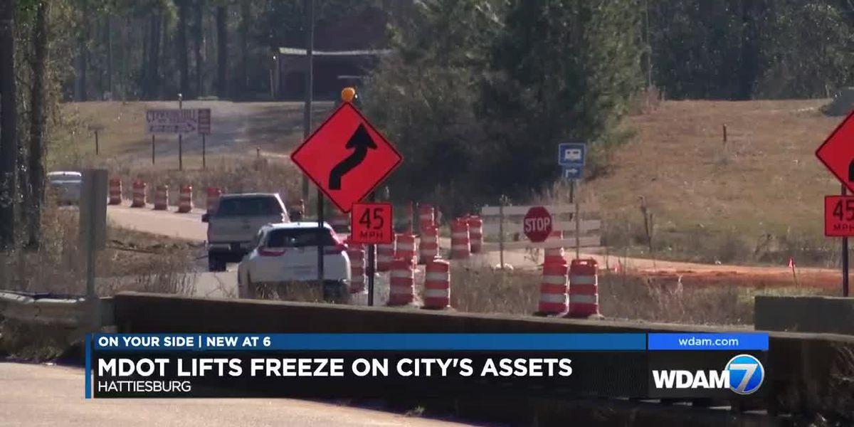 MDOT lifts freeze on Hattiesburg assets