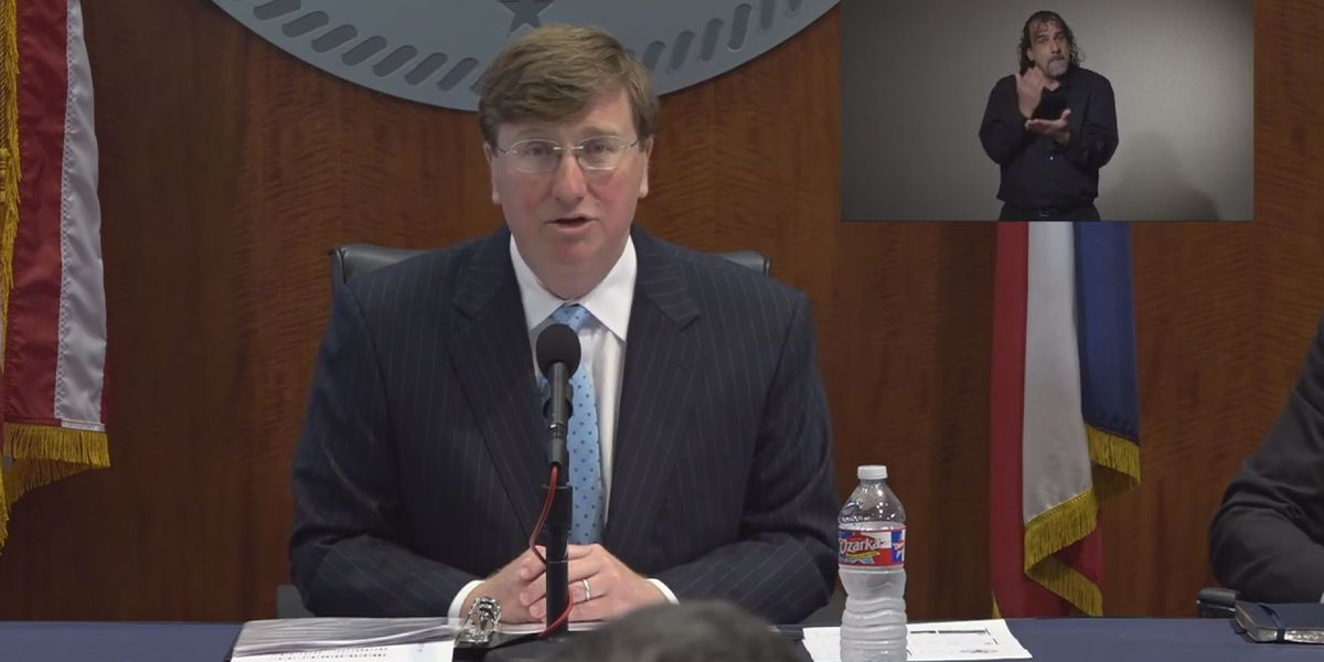 Governor Reeves details state plans for increased COVID-19 cases
