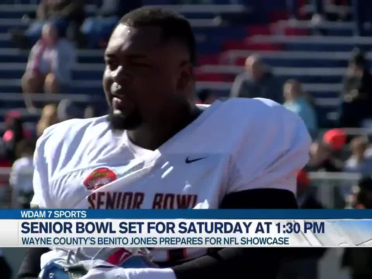 Benito Jones' hard work takes him from Waynesboro to Senior Bowl
