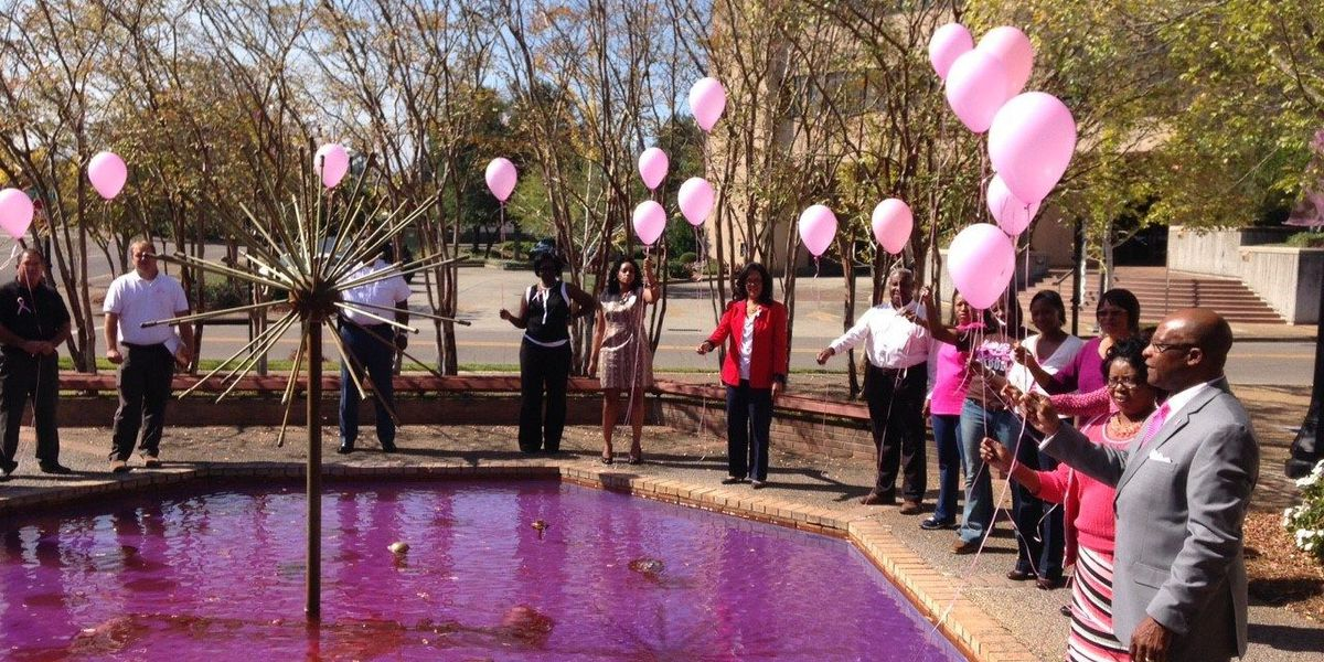 Hattiesburg mayor reads proclamation in honor of Breast Cancer Awareness Month