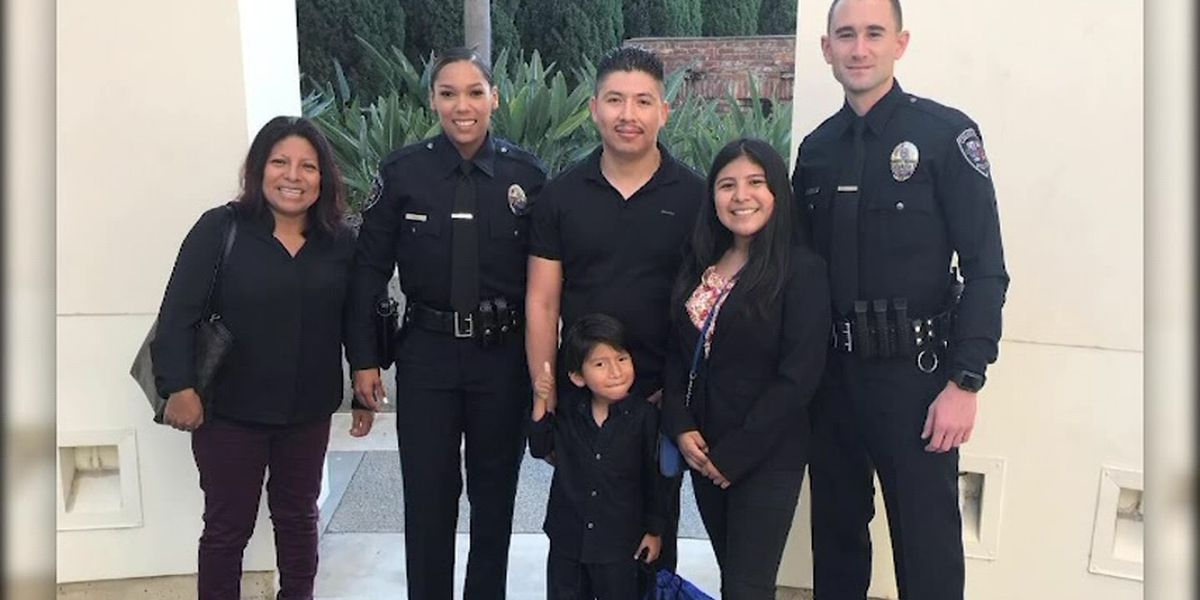 Body cam video: Calif. police officers save choking child