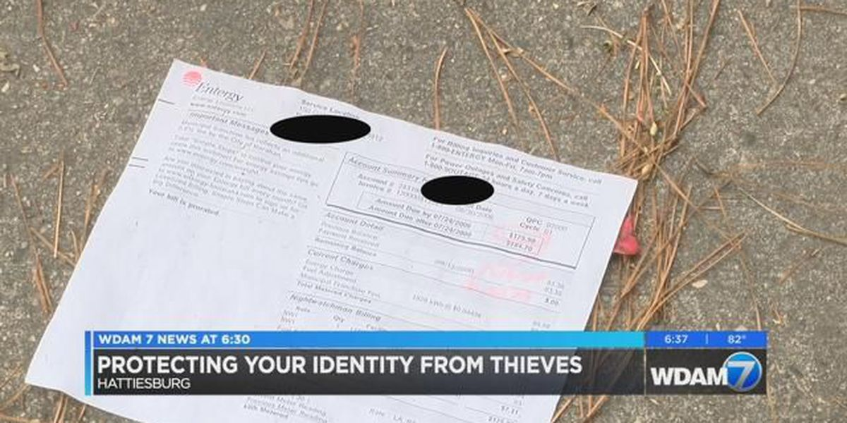 Don't become a victim of identity theft