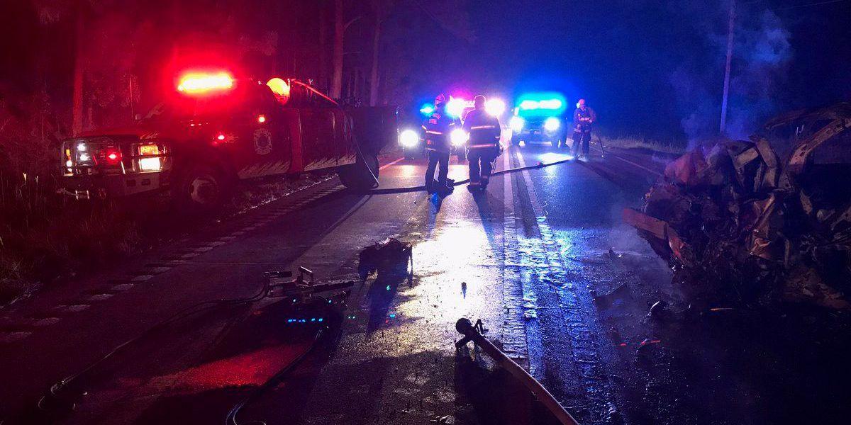 Two killed in Lamar County crash